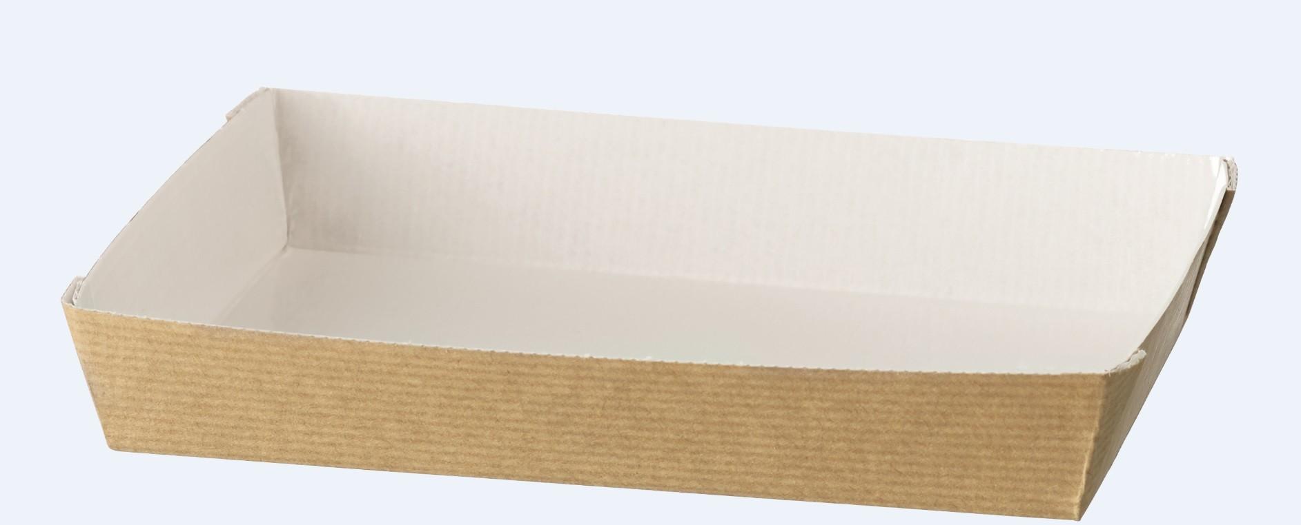 Assiette cubik 180x130 NATURAL COMATEC
