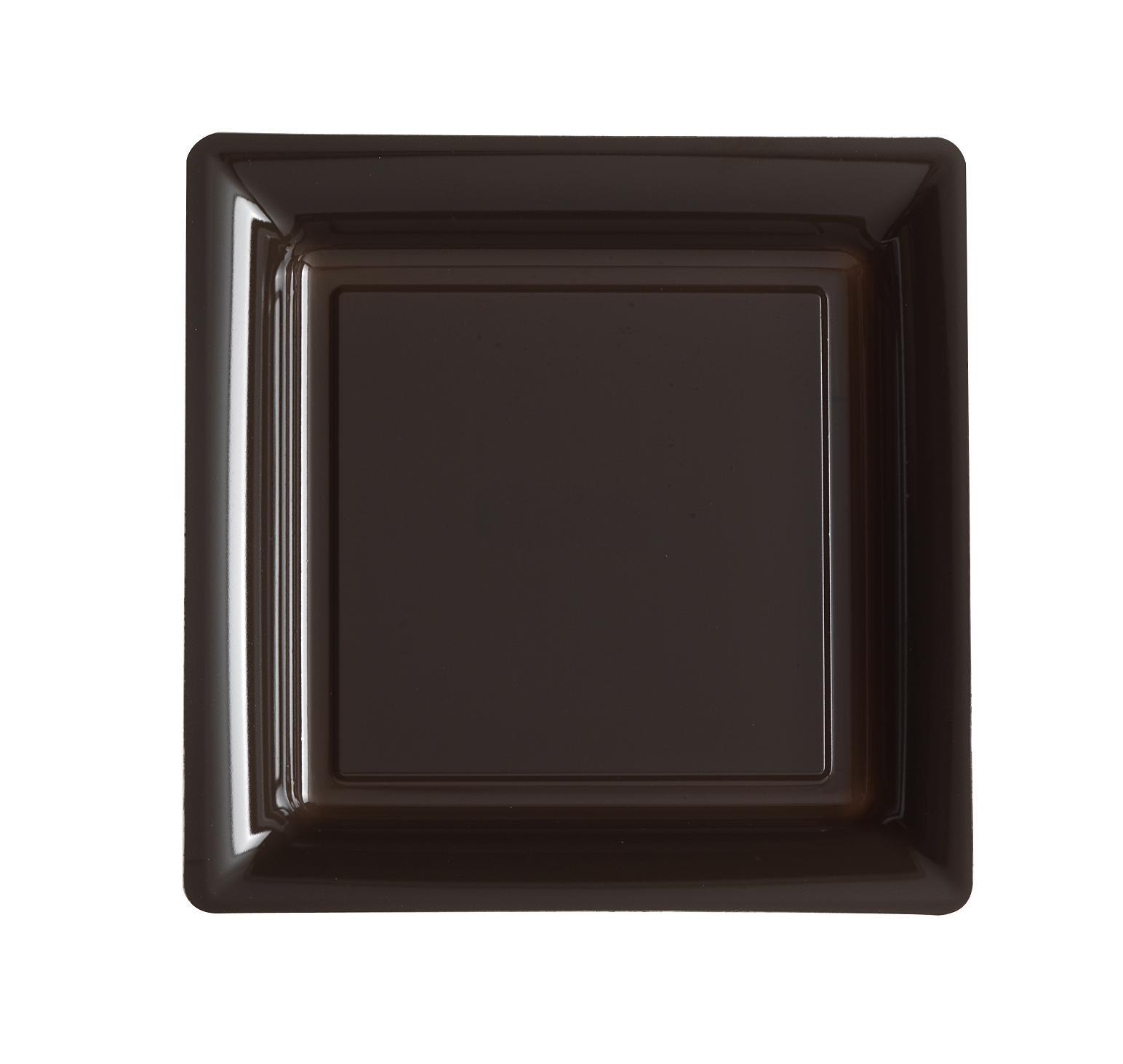 ASSIETTE JETABLE CHOCOLAT 24cm