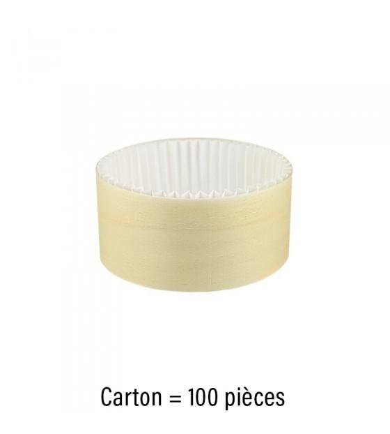 Boite bois ronde + caissette 15cl sans couvercle