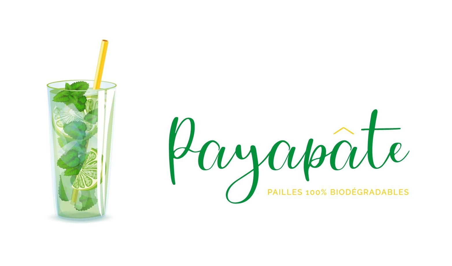 PAYAPATE - Paille en pâte - 25cmx0.7cm