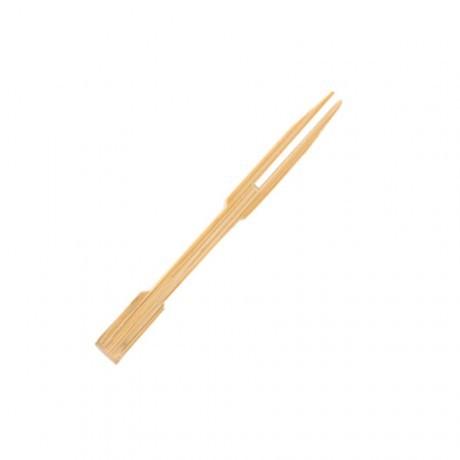 Mini fourchette brochette bambou 9cm