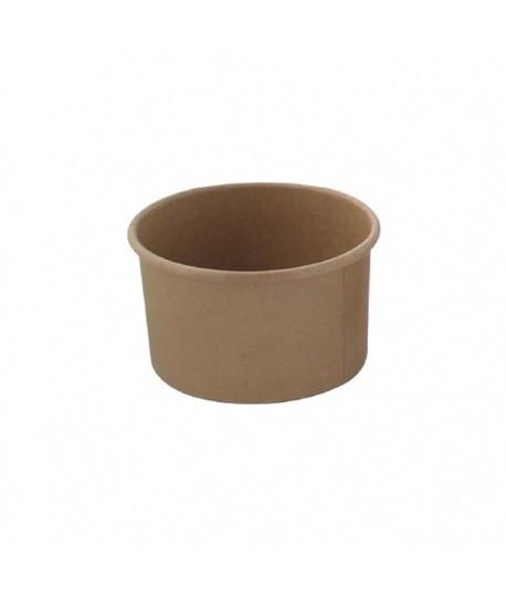 Pots en carton kraft 120ml Ø 7,7x4,7cm