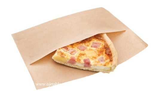Sachet papier kraft 21cm