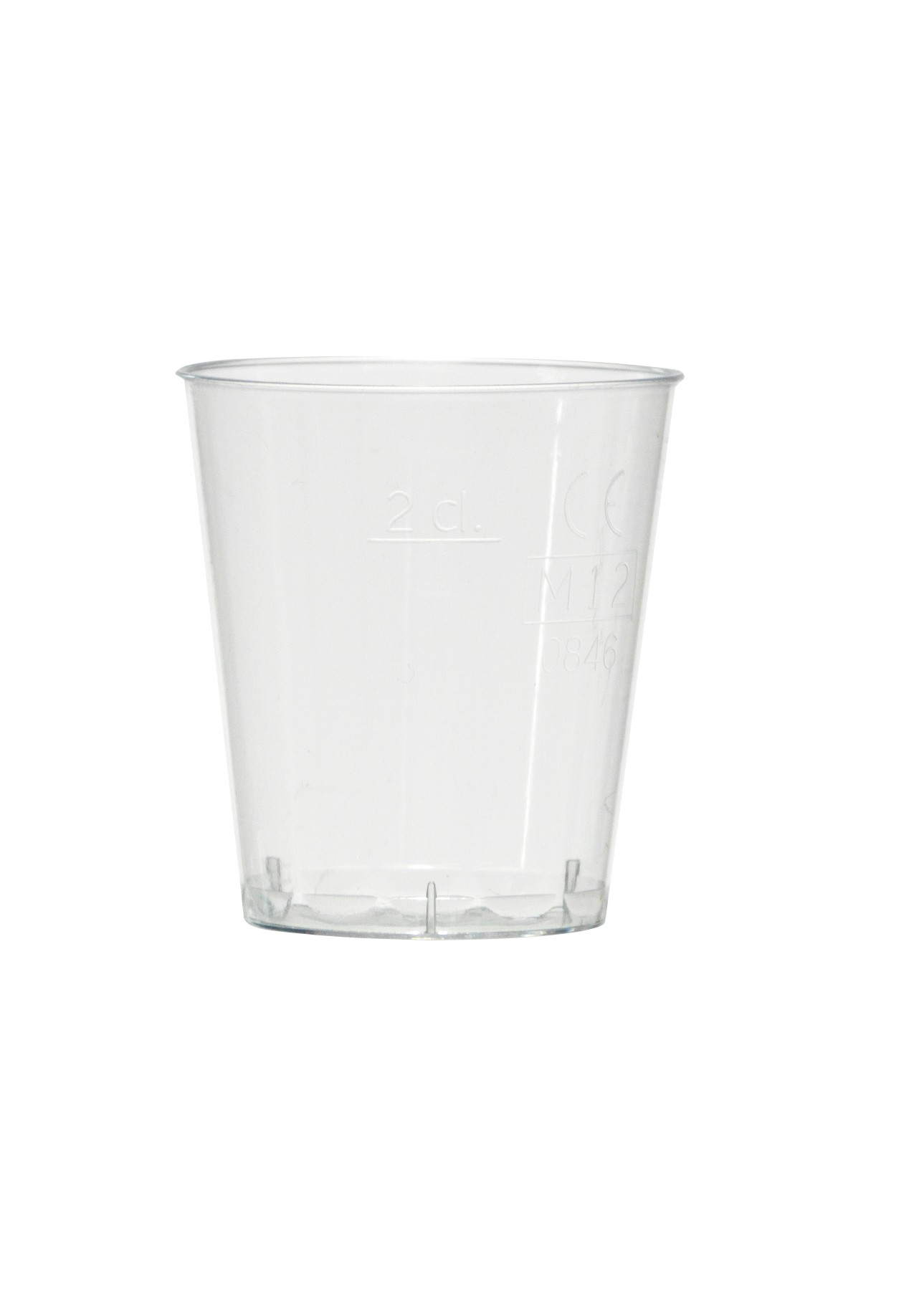 VERRINE PLASTIQUE PAS CHER 3cl