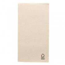 SERVIETTE DOUBLE POINT RECYCLE Pliage 1/8ème