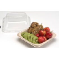 Assiette naturel biodegradable 14 cm