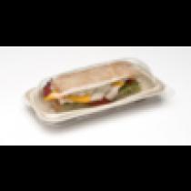 Couvercle pour assiette biodegradable 24cm