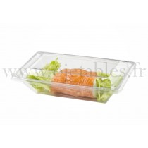 PLAT REPAS RECTANGLE+COUVERCLE