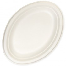 ASSIETTE BIODEGRADABLE OVALE