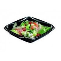 "BARQUETTE SALADE AVEC COUVERCLE ""CRUDIPACK"" 500g"