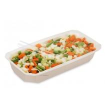 BARQUETTE GASTRO 1/4 H45 FOOD-K SCELLABLE NATUREL