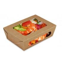 Boîte salade avec couvercle charnière 1000ml