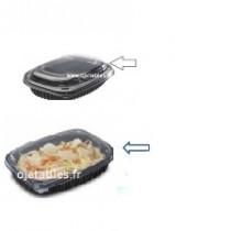 Couvercle cookipack 1250ml en 2 ou 3 compartimens