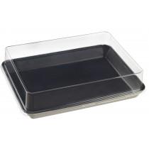 Assiette Kanopée 20x15 Noir Bio