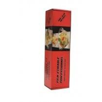 1 Rouleau film etirable alimentaire 300x0.30 avec boite distributrice +zip