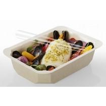 Barquette, assiette scellable en carton Food K