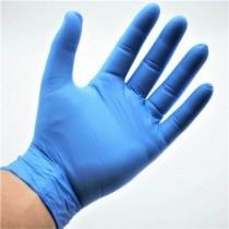 Gant Bleu Nitrile/Vinyle Stretch Non poudré Taille S