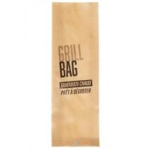 GRILL BAG KRAFT BRUN 105/20+20x320 mm