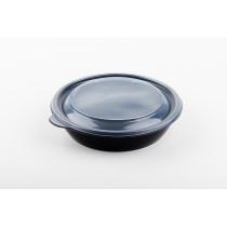 Boite plastique ronde 750 ml chaud SABERT
