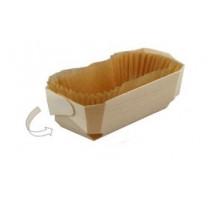 Moule en bois avec caissette 12x6x3.5cm