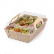 Panier salade froid 1160ml couvercle compris