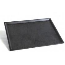 Plateau réutilisable Ardoise 39.5x29.5cm avec ou sans couvercle