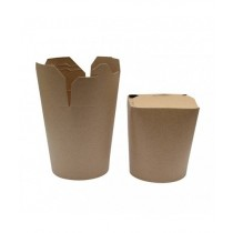 POT A PATES  EN CARTON 480ML kraft