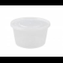 POT PLASTIQUE MICRO-ONDABLE 475ml avec couvercle