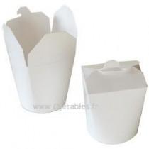 POT A PATES  EN CARTON BLANC 480ML