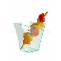VERRINE PLASTIQUE TRANSPARENTE