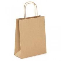 Sac papier Kraft brun 18+8 x 21.5cm