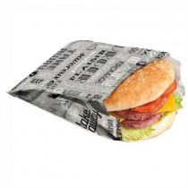 Sachet jetables pour burgers