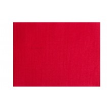 Set de table papier rouge tramé 30x40