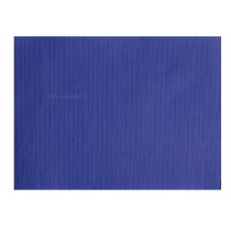 SETS DE TABLE PAPIER BLEU MARINE tramé 30x40