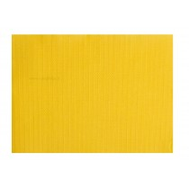SETS DE TABLE PAPIER JAUNE VIF tramé 30x40