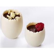 Verrine plastique mini oeuf vanille originale
