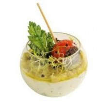VERRINE PLASTIQUE SPHERE