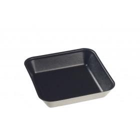 Assiette Kanopée 10x10 Noir Bio Solia