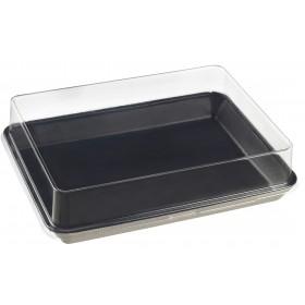 Assiette Kanopée 20x15 Noir Bio Solia